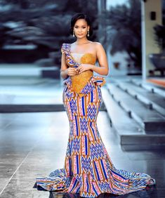 African Bridal Dress, Best African Dresses, African Fashion Ankara, African Print Dresses, African Print Fashion, African Attire, African Prints, African Style, African Traditional Wear