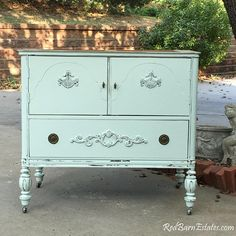 BATH VANITY CABINET From Antique Dresser Custom To Order #paintedfurniture #affiliate