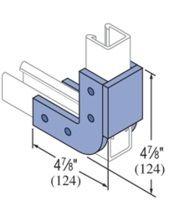 Unistrut Fiberglass U Shape Channel Fitting 50PU-1508 / 50PU-2008. Eberl Iron Works, Inc. is a dsitributor of the Unistrut Fiberglass Framing System.