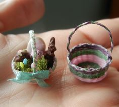 how to: mini Easter baskets
