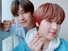 200221 H&D Lee Hangyul and Nam Dohyon Selca at Backstage Music Core Backstage Music, Challenges, Entertaining, Shit Happens, Twitter, Promotion, Idol, March, Korean