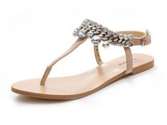 new 2014 summer women flats sandals fashion rhinestone Sheep leather shoes flip flops