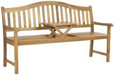 Mischa Wood Garden Bench