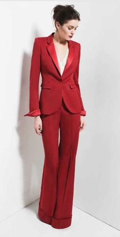 The perfect interview outfit. Wear this to Wolfram & Hart with deadly heels and a silver locket that might be hiding any number of sins. You'll be sure to get the job.