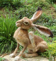 ...my favorites are her rabbits...Sarafina Fiber Art - Home