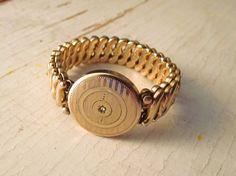 1940's bracelet, love that it looks like a watch