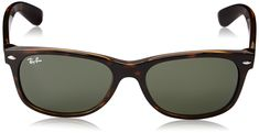 056bbed976 RayBan Unisex RB2132 New Wayfarer SunglassesTortoise 55mm    Details can be  found by clicking on