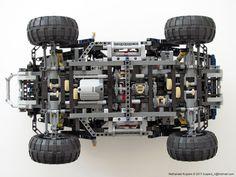 Jeep Hurricane Lego - makes a nice centerfold shot