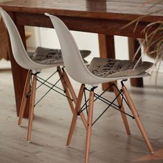 Designer Stühle.