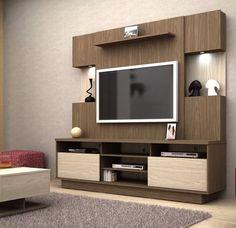 Lcd Unit Design Modern For Bedroom - Lcd Unit Design Tv Unit Decor, Tv Wall Decor, Tv Cabinet Design, Tv Wall Design, Living Room Tv Unit Designs, Bedroom Cupboard Designs, Lcd Unit Design, Tv Wanddekor, Tv Unit Furniture Design