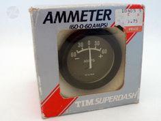 TIM AMMETER Amp- Voltmeter Messanzeiger - cyan74.com vintage and pop culture online shop Switzerland Schweiz Swiss Suisse