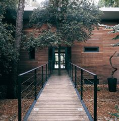 House in the Forest – Contemporary railings
