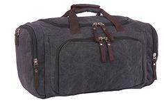 Cool Walker Large Capacity Canvas Travel Luggage Weekend Duffel Shoulder Handbags8581st6black *** For more information, visit image link.