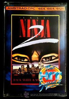 Juego Amstrad CPC Cinta - Last Ninja 2 (1988)