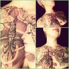 Tattoo in Progress by Jeff Gogue