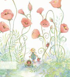 Walking Through the Poppies