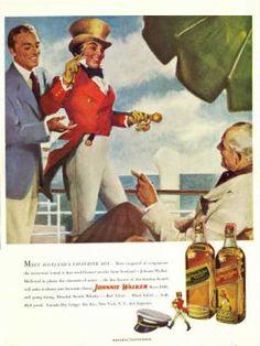 Johnnie Walker Scotch Whisky (1949)