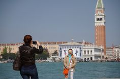 This is one of my favourite photos of a case of being in the right place at the right time. Taken in Venice, Italy. Some of my other favourite photos are in the comments. San Francisco Ferry, Venice, Travel, Viajes, Venice Italy, Trips, Traveling, Tourism, Vacations