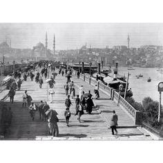#galata #bridge #istanbul #turkey #1890's