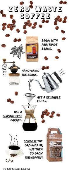 Love this summary of ways to make any coffee routine less wasteful!