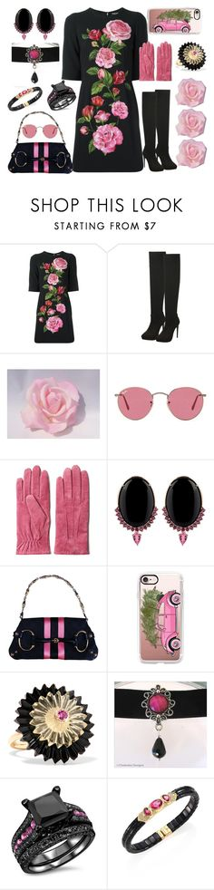 """Untitled #556"" by yournightnurse ❤ liked on Polyvore featuring Dolce&Gabbana, Ray-Ban, GANT, Joana Salazar, Tom Ford, Casetify, Alice Cicolini and Marina B"