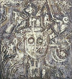 Head of a King, 1940 by Richard Pousette-Dart. Abstract Expressionism. abstract