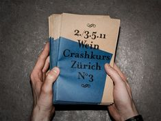Wein Crashkurs / Bureau Collective