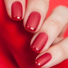 awesome 75 Mesmerizing Ideas on French Tip Nails - Fascinating French Manicure Check more at http://newaylook.com/best-ideas-on-french-tip-nails/
