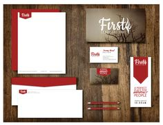 Branding: First Church Logo/Branding by MAKENZIE SCOTT, via Behance