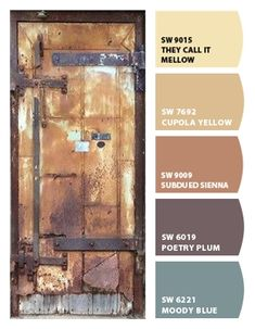 Instantly turn any picture into a palette with ColorSnap, created for you by Sherwin-Williams. Tuscan Paint Colors, Rustic Paint Colors, Orange Paint Colors, Exterior Paint Colors, Paint Colors For Home, House Colors, Decoration Palette, Paint Color Schemes, Tuscan Design