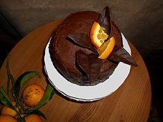 Coisas simples são a receita ...: Bolo em espiral de laranja e chocolate