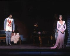 OperaQueen - Robert Goulet and Julie Andrews in the original... Robert Goulet and Julie Andrews in the original Broadway production of Camelot. 1960.