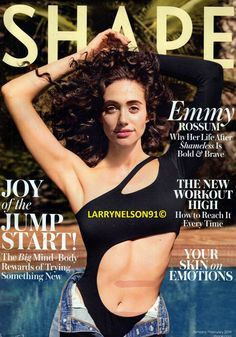 SHAPE MAGAZINE JANUARY FEBRUARY 2019 EMMY ROSSUM SHAMELESS JOY OF THE JUMP START Emmy Rossum, Shape Magazine, Cover Pics, Magazines, February, Joy, Shapes, Journals, Magazine
