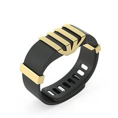 BLINGTEC FOR FITBIT CHARGECHARGE HR  TOTAL CHARMS COLLECTION YELLOW 18K GOLD -- Check out this great product by click affiliate link Amazon.com