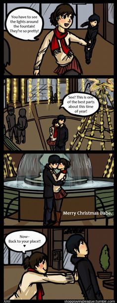 Christmas is also his birthday ❤️❤️❤️ Me and Doll (comic, I think I'm in love with a Derp)