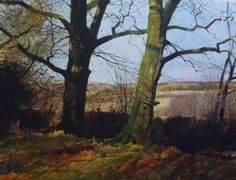 Richard Thorn - At the Edge of the Wood - watercolor