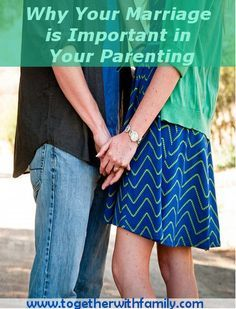 Making marriage and parenting together healthier!  Some great tips here!!