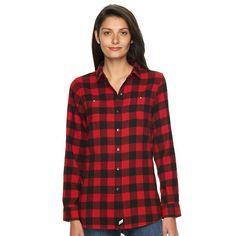 Women's Woolrich Plaid Shirt, Size: