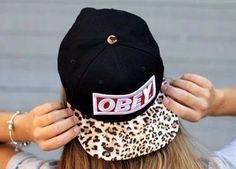 One of the hottest selling items on the internet! Give the gift of fashion! Snap back OBEY hat by LuccaCharles on Etsy, $27.00