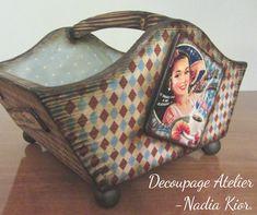 made by Decoupage Atelier - Nadia Kior Louis Vuitton Damier, Decoupage, Pattern, Bags, Atelier, Handbags, Patterns, Model, Bag