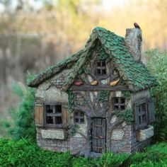 Fairy Garden Miniature House Woodsy Way... SHOP now $39.99