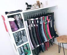 Tack room storage idea