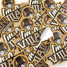 Backstage Guitars Custom Die Cut Stickers Die Cut Stickers - Guitar custom vinyl stickers
