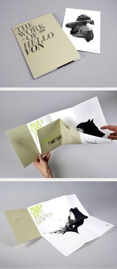 poster + brochure