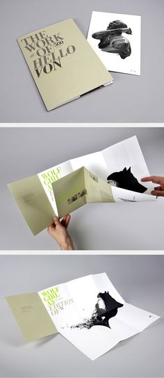 Inspiration T& cia. - L& poster + brochure Brochure Folds, Brochure Format, Design Brochure, Creative Brochure, Brochure Layout, Product Brochure, Leaflet Design, Booklet Design, Restaurant Logo