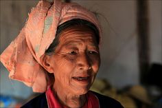 Palaung Woman Myanmar