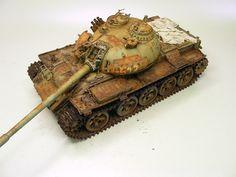Constructive Comments Discussion Group: T-55M Ukranian scrap...