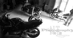 More bike shots, black and white.. YES!