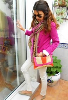 I WILL find the perfect pink blazer for this spring