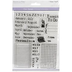 Multicraft Imports CS220-Q Clear Stamps 5.5X7 Sheet-Calendar Multicraft Imports http://smile.amazon.com/dp/B00MAMPLOG/ref=cm_sw_r_pi_dp_xVLZvb0CW3HW8